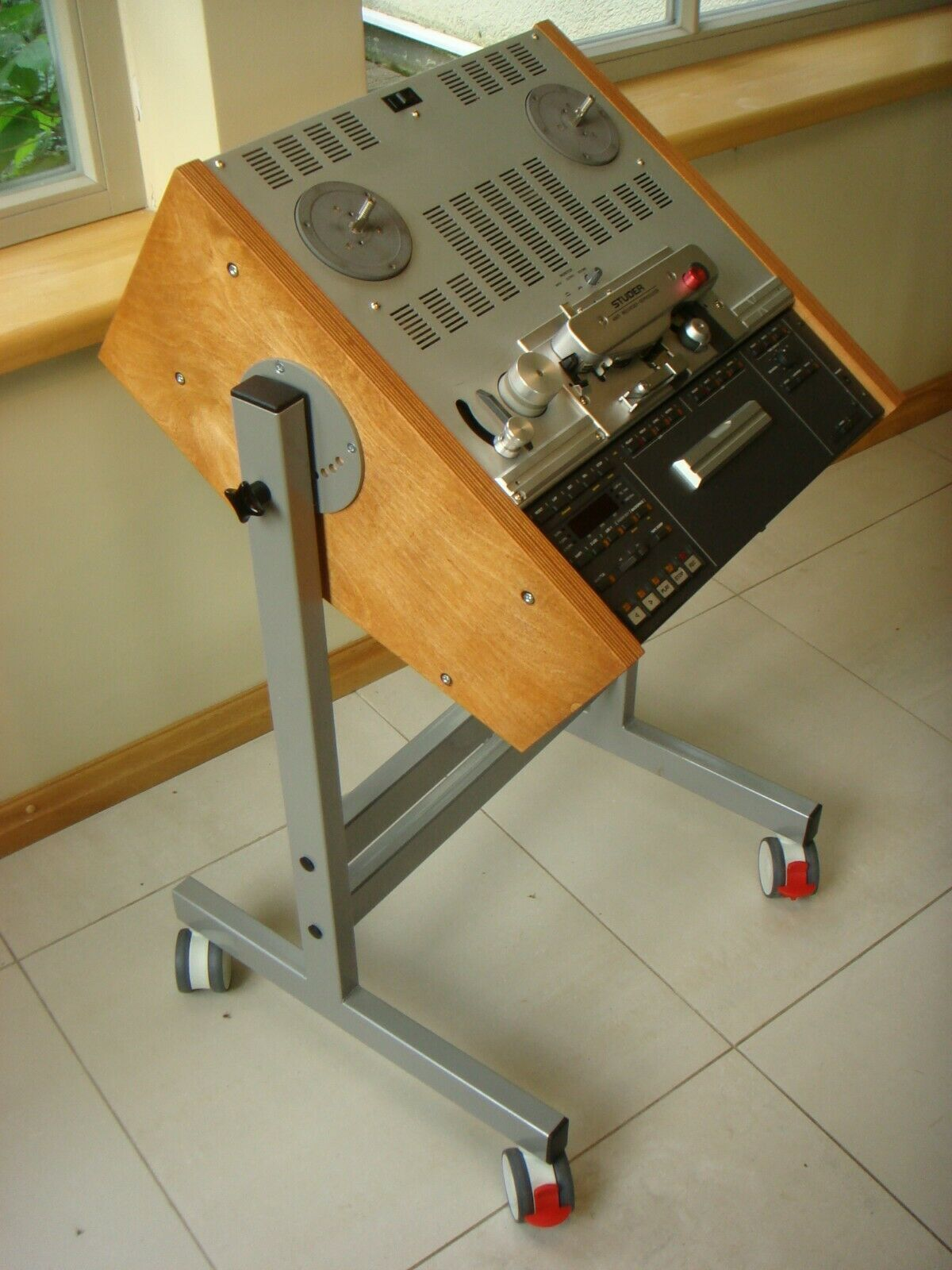 NEW CUSTOMISED Cart Stand for any AKAI Reel to Reel Tape Recorder GX Series