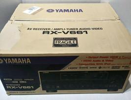 Yamaha RX-V661 AV Receiver Ampli-Tuner Audio Video New Open Box - $399.99