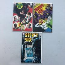 Lot of 3 Secret Six (1968 1st Series) #3 5 7 FN Fine - $29.70