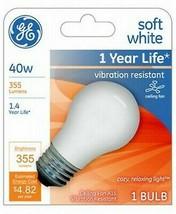 GE 99461 A15 Incandescent A-Line Ceiling Fan Bulb Soft White 355 Lumens image 2