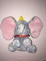 """Disney 12"""" Dumbo Plush Doll Disney Store CORE DUMBO Unisex 1+ Stuffed Med. - $20.45"""