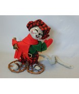 2011 Annalee Doll Christmas Mouse on Snowshoes  - $21.78