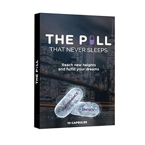 THE PILL That Never Sleeps, Fast Acting Male Amplifier for Strength, Performance