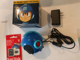 MegaMan Helmet gaming system w/ Raspberry Pi ZeroW installed.64GB SD and... - $119.99