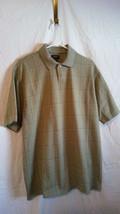 Van Heusen Polo Short Sleeve Shirt Men's Size L    Light Green New witho... - $7.92