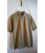 Van Heusen Polo Short Sleeve Shirt Men's Size L    Light Green New witho... - $7.92
