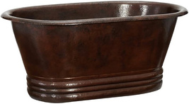 "Copper Bathtub ""Santa Ana"" - $2,900.00"
