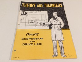 1971 Theory & Diagnosis Chevrolet Suspension & Drive Line ST 337-71 - $9.99