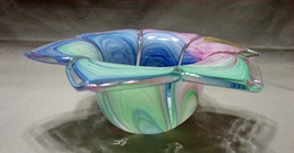 """Murano Style "" Art Glass Candy Dish by Crystal Clear Candy Dish - $5.99"