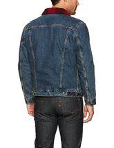 Levi's Men's Classic Button Up Cotton Sherpa Trucker Jacket image 3
