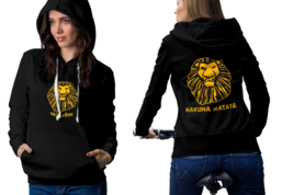 The Lion king Hoodie Classic Women Black and White - $27.99