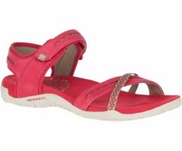 Merrell Womens Terran Cross II Chilli Red Trail Fashion Straps Sandals J... - $104.99