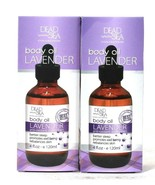 2 Count Dead Sea Collection 4 Oz Lavender Better Sleep Well Being Body Oil - $28.99