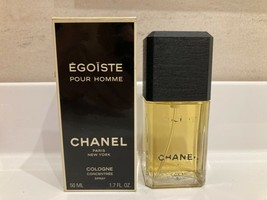 Rare Vintage Chanel Egoiste Concentree Edt 1.7oz/ 50ml Spray - $296.01