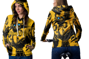 Bumblebee hoodie women