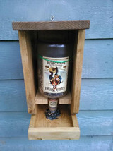Captain Morgan rum bottle bird feeder - $65.00