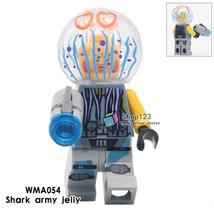 Single Sale The Shark Army Jelly Ninjago Movie Minifigures Block Toy - $3.25