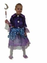 xcg374 Child Magical Wizardress Halloween Costume Medium 8-10 - $26.13