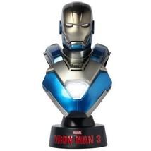 NEW HOT TOYS BUST Iron Man 3 IRON MAN MARK 30 XXX BLUE STEEL 1/6 Bust Fi... - $98.74