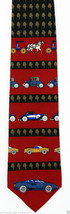 Joy Ride Men's Silk Necktie Vicky Davis Designer Car Automobile Red Neck... - $19.75