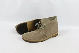 Clarks Originals Mens Size 8 Suede Leather Chukka Chukkas Desert Boots Gray - $49.45