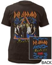 Def Leppard-Hysteria Tour-Black T-shirt - ₹1,258.32 INR