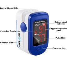 Zacurate® 500BL Sporting/Aviation Fingertip Pulse Oximeter Blood Oxygen Saturati image 3