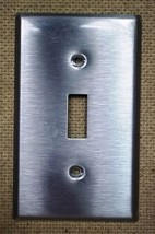 Leviton Switch Cover 4 1/2in x 2 3/4in Steel - $5.35