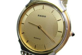 Authentic RADO 121.9593.2 Stainless Steel Quartz Women's Watch RW11641L - $145.00