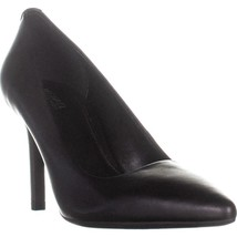 MICHAEL Michael Kors Dorothy Flex Pump Classic Heels, Black Leather, 11 ... - $55.67