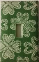 LACE SHAMROCK Light Switch Cover Irish Ireland St. Patrick's Day Gift Se... - $8.24