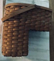 Longaberger Classic 1995 Odds N Ends Stair Step It Up Basket  - $118.75