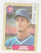 1987 Topps Jamie Moyer Chicago Cubs #227 Baseball Card ROOKIE CARD 192807 - $1.86