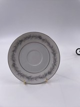 """Style House Fine China Duchess 5 1/2"""" Saucer only Pine Cone Gray Needles - $3.95"""