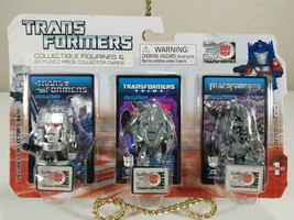 Transformers Collectible Figurines And Collector Cards - Megatron - Hasb... - $9.00