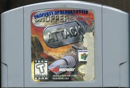 Chopper Attack (Nintendo 64, N64, 1998, Cart. Only)  - $6.92