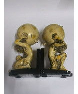 Strong Man with Globe Book Ends - $34.38