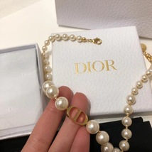 AUTH Christian Dior 2019 J'ADIOR Limited Ed Necklace Chain Choker Gold image 3