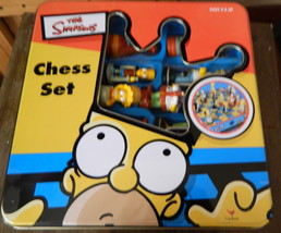 The Simpsons Chess Game in Tin Container - $48.00