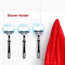 Shaver Toothbrush Holder Washroom High Power Suction Cup Hook Razor Bat... - $2.99