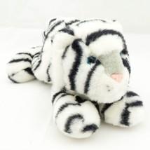 "White Tiger Plush 14"" Aurora Blue Eyes Stuffed Animal Toy - $12.80"