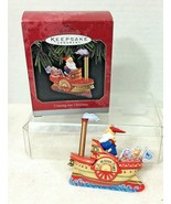 1998 Cruising into Christmas Hallmark Christmas Tree Ornament MIB Price ... - $18.32