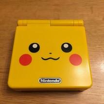Nintendo Game Boy Advance SP Pikachu Edition Pokémon Center Limited From... - $456.49