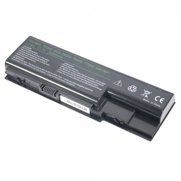 Primary image for Replacement Laptop Battery for Acer Aspire 5315 Series (6cell 11.1v 5200mAh)Blac