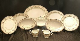 Noritake China 5032 Colby AA20-5032  Vintage (10 pieces)