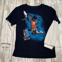Gap Kids Long Sleeve Layer Basketball Graphic Shirt Size M - $6.93