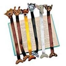 Plush Zoo Animal Bookmarks - $12.11