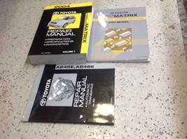 2004 Toyota Corolla Matrix Service Repair Shop Workshop Manual V 1 W EWD & TRANS - $128.65