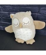 Cloud B Plush Nighty Night Owl Soothing Sounds Baby Crib Toy Stuffed Tan... - $26.72