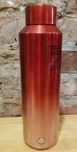 Starbucks 2019 Holiday Red Rose Gold Ombre Vacuum Insulated Water Bottle 20 oz - $46.66